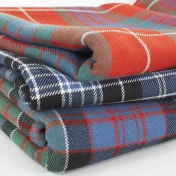 Heavyweight Tartan 16oz -
