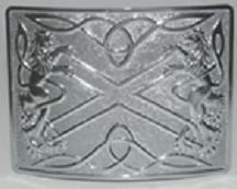 Highland Saltire Buckle