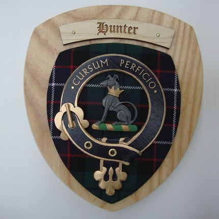 Scottish Clan Wall Plaque