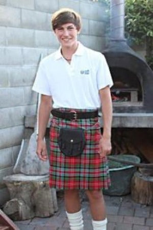 Basic Casual Kilt Outfit -  - 1