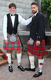 Kilts in New Age Tartans -