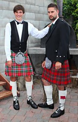 Kilts in New Age Tartans