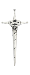 Kilt Pin Sword with Saltire -