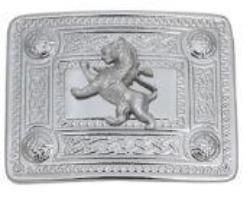 Rampant Lion Mount Buckle