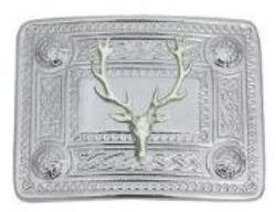 Stags Head Mount Buckle
