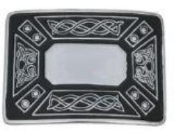 Celtic Rim Buckle - Black