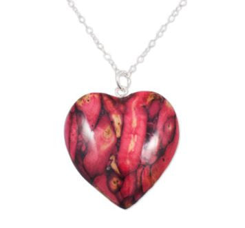 Medium Heart Pendant. -