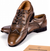 Ghillie Brogues, Brown Leather