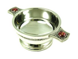 Quaich Pewter with Heathergem -  - 1