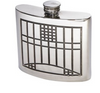 Charles Rennie Mackintosh Kidney Flask (6oz)