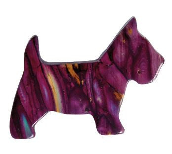 Scottie Dog Brooch -