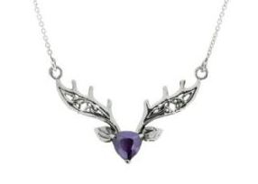 Scottish Highland Stag Necklace