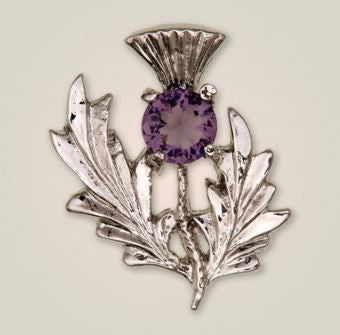 Scottish Thistle Brooch (2) -