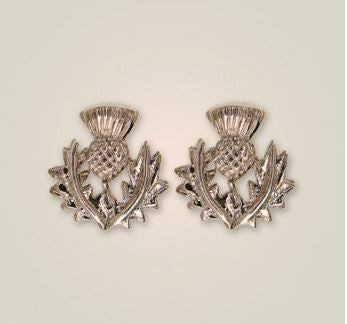 Scottish Thistle Earrings (1) -