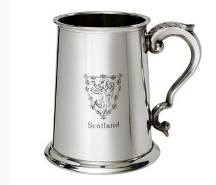 Tankard Clan Crested -