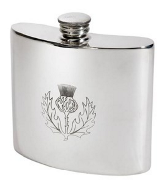 Thistle Kidney Flask (2oz or 6oz)