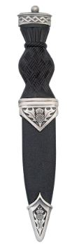 Thistle Matt Sgian Dubh With Ball Top