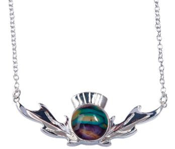 Thistle Necklace -
