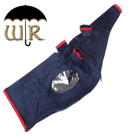 Weather Resistant Navy Pipe Bag Cover (Cord) -
