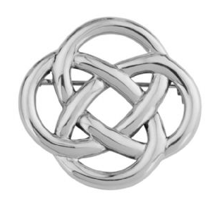 Celtic Round Knot Brooch