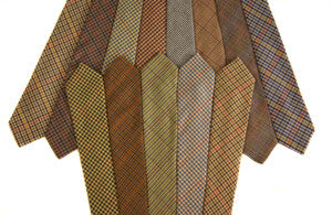 Glen Tilt Worsted Tweed ties -
