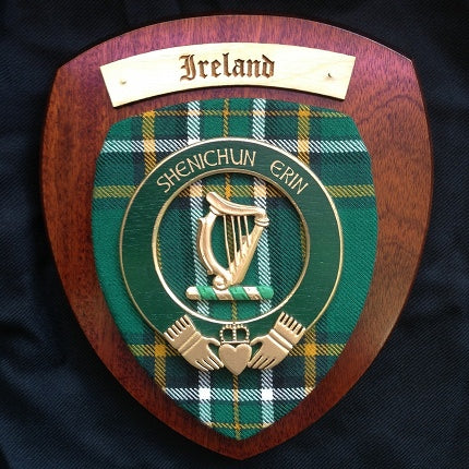 Irish Wall Plaque