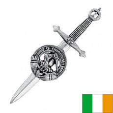 Irish Crested Kilt Pins -