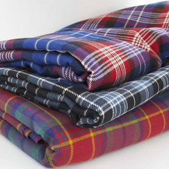 Medium weight Tartans 13oz -