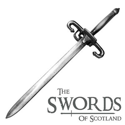 Kilt Pin Swords of Scotland Wallace Sword -
