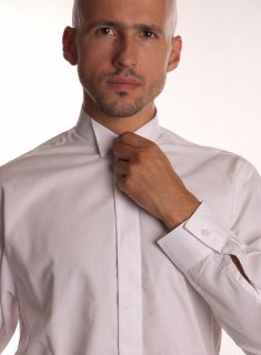 Men's Formal Shirts (White) -  - 4