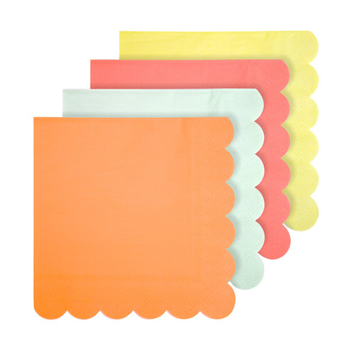 Neon Napkins - Large