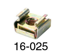 Rackmount Cage Nuts 16-025 Pack of 25