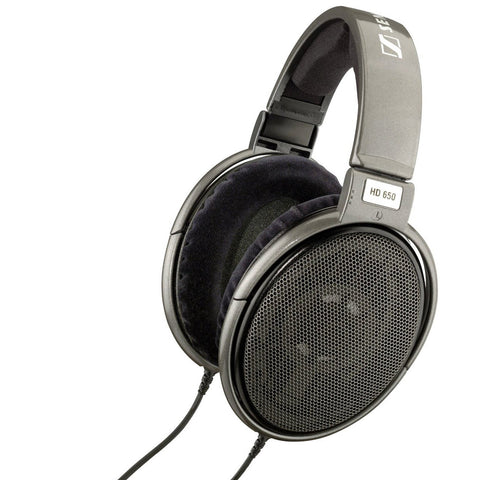 Sennheiser HD650 Audiophile Titanium/Silver Open Monitoring Phones