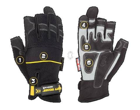 Dirty Rigger Comfort Fit Mens Framer Rigging / Operator Gloves