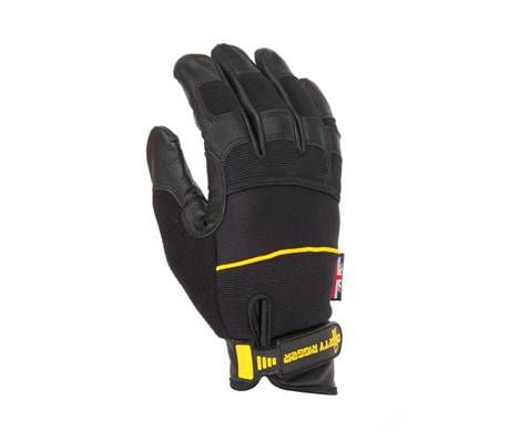 Dirty Rigger Leather Heavy Duty Full Finger Rigging / Loader Gloves