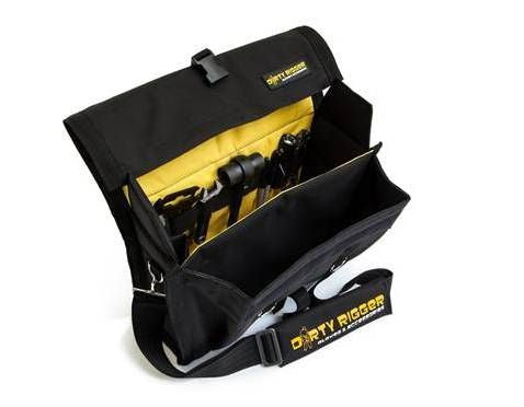 Dirty Rigger Gear Bag Padded Utility Bag for Tools Phone & Smart Devices