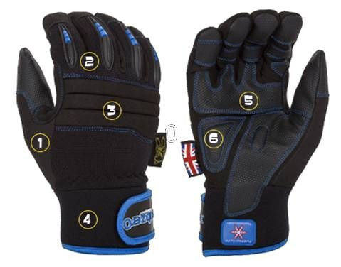 Dirty Rigger Sub Zero Cold Weather & Water Resistant Gloves