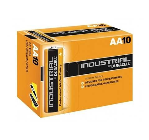 Duracell Industrial Type AA 1.5V / Box of 10