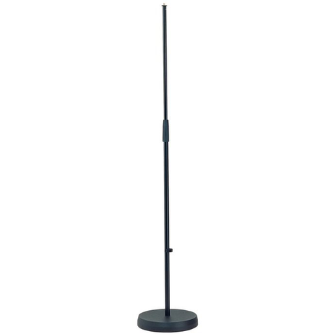 K&M Stands 260 Mic Stand with Heavy Round Base 87-158cm