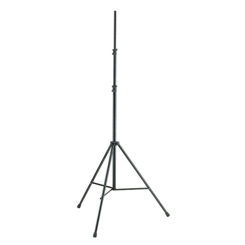 K&M Stands 20800 Overhead Mic Stand with Tripod Base Black 3m