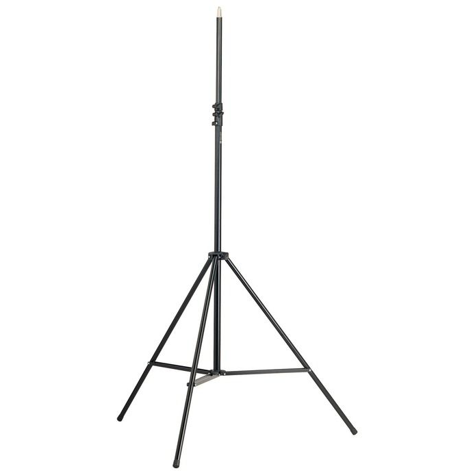 K&M Stands 21411 Overhead Mic Stand Tripod Base Heavy Duty Black 2m