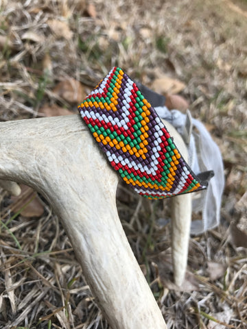 Aztec Colorful Beaded Bracelet