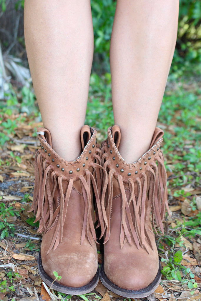 Knotted Fringe Shortie