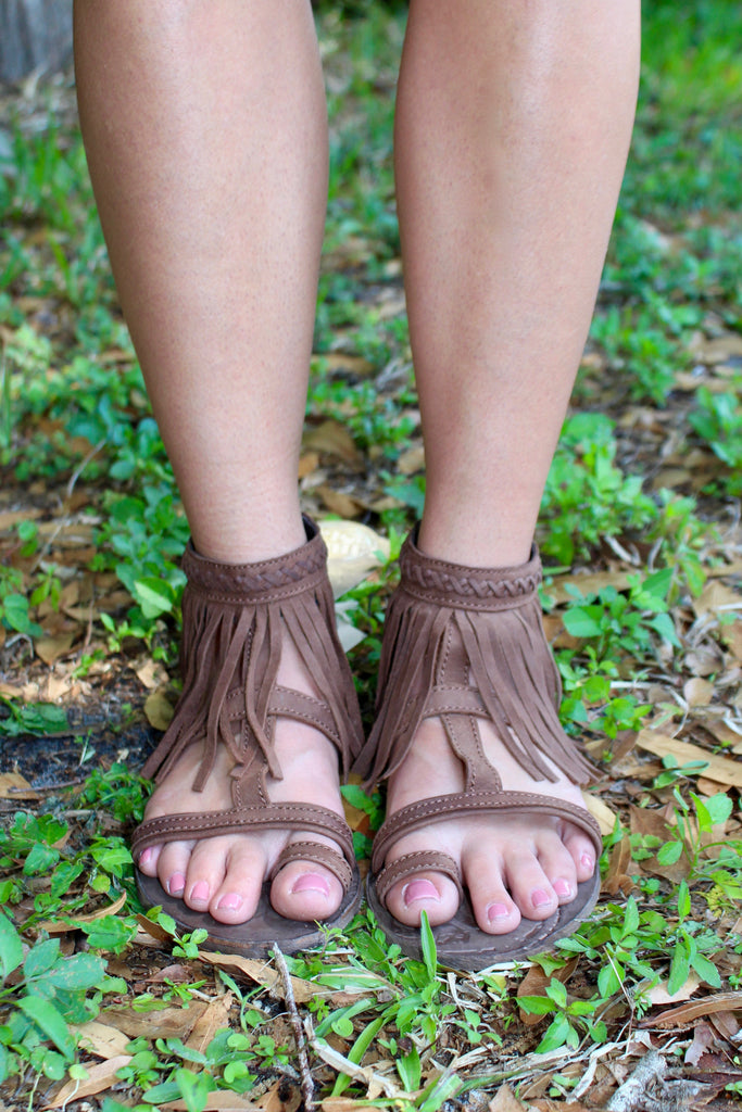 Finge Sandals - Chocolate