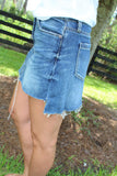 Lovin' Denim Days Mini Skirt