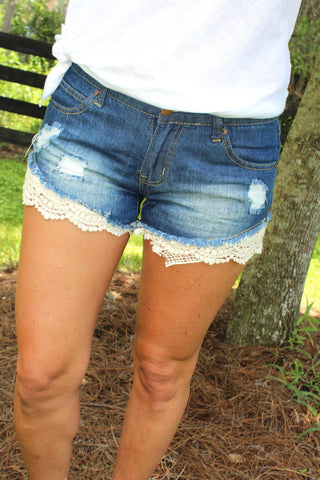 Summer Lovin' Denim Shorts