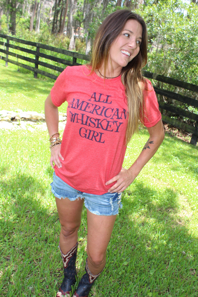 All American Whiskey Girl