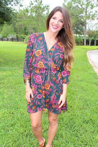 Brittany Blossom Dress