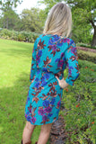Botanical Wrap Dress