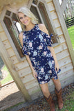 Sassy Days Dress - Navy